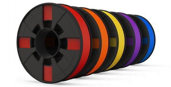 MakerBot PLA Filament Spools