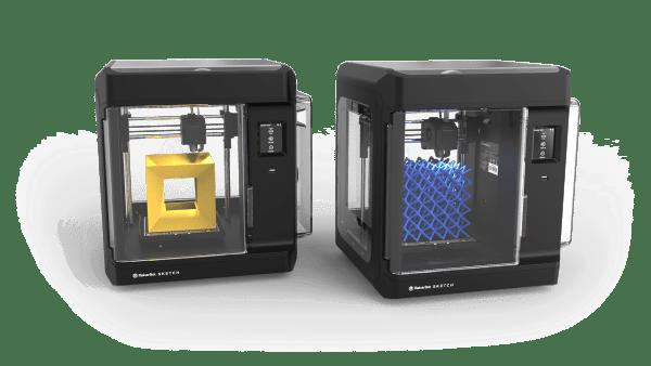 Two 3D printer's